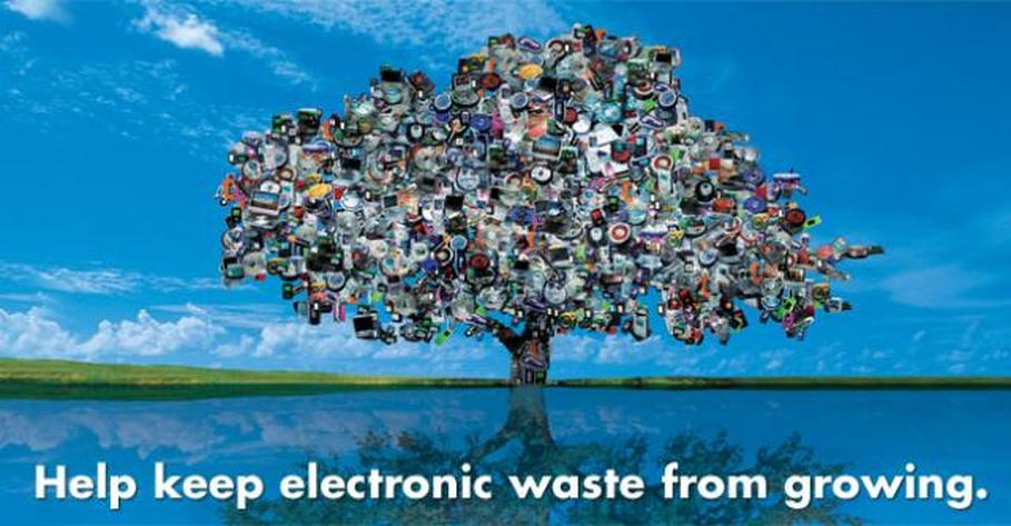 e waste computing environment picture